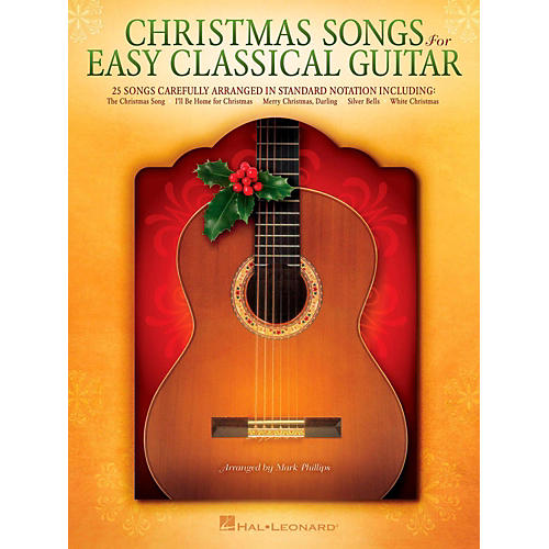 Hal Leonard Christmas Songs For Easy Classical Guitar (No TAB Notation) thumbnail