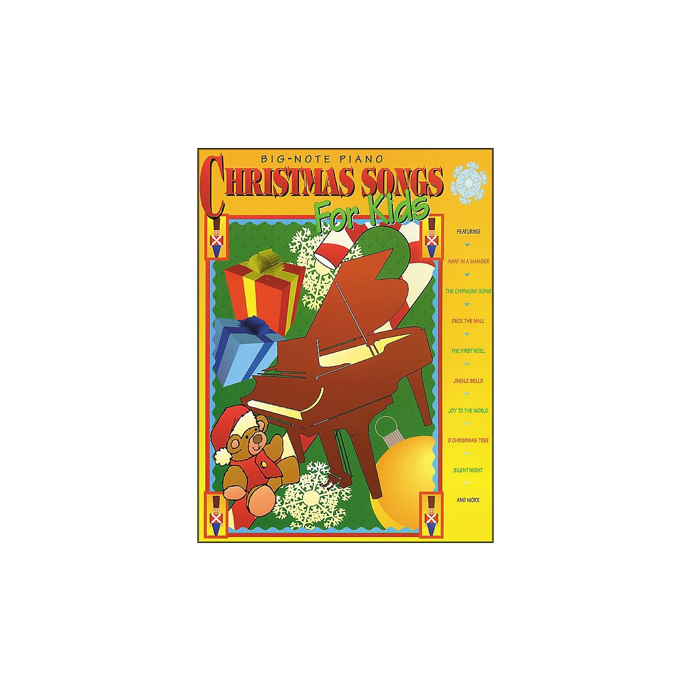 Hal Leonard Christmas Songs for Kids for Big Note Piano thumbnail