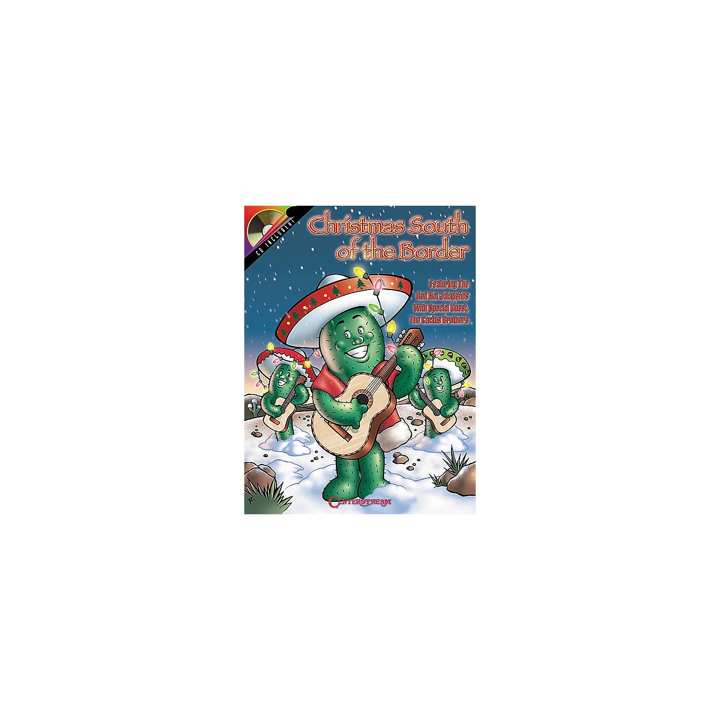 Centerstream Publishing Christmas South of the Border Guitar Tab Songbook with CD thumbnail