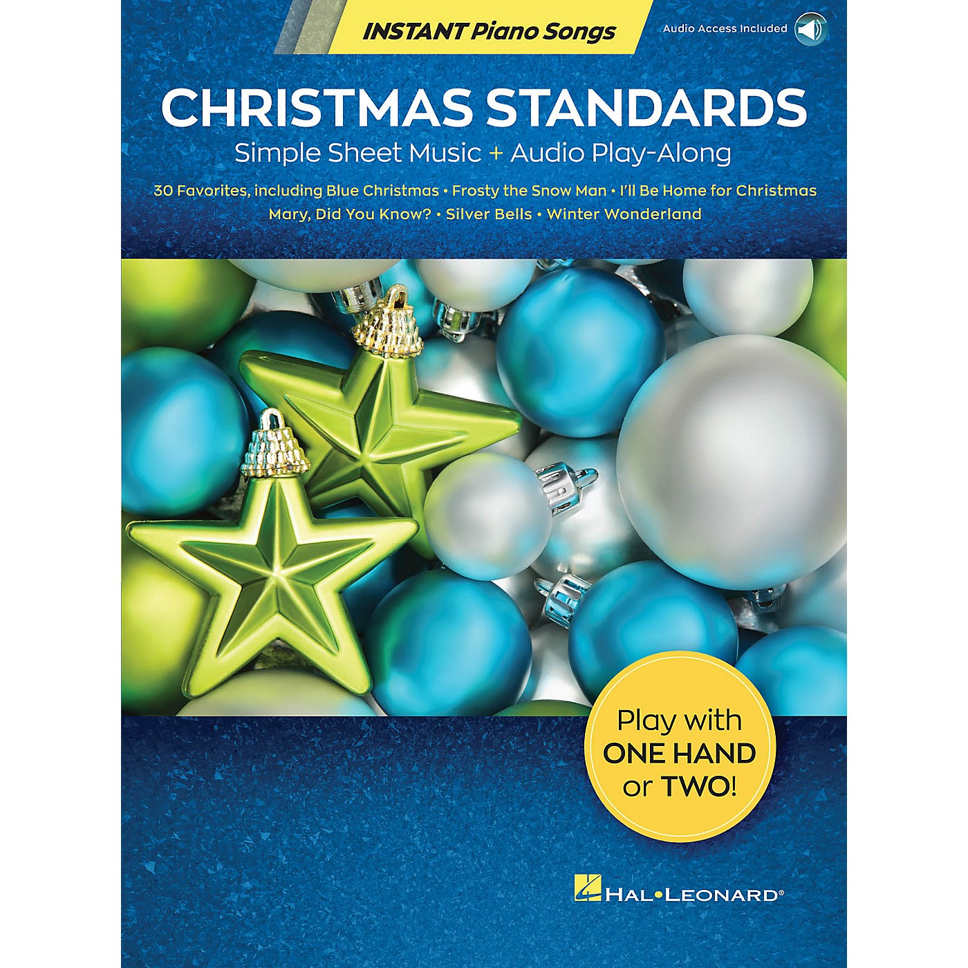 Hal Leonard Christmas Standards - Instant Piano Songs Simple Sheet Music + Audio Play-Along Book/Audio Online thumbnail