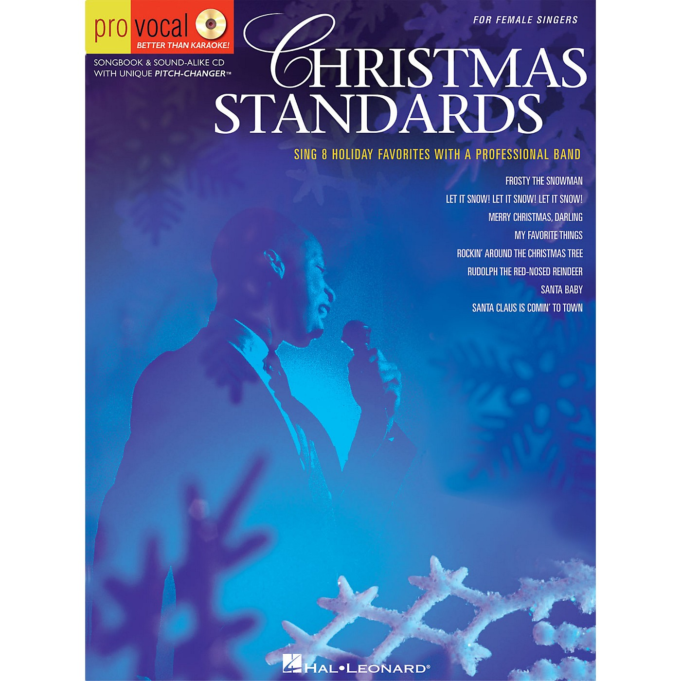 Hal Leonard Christmas Standards (Pro Vocal Men's Edition Volume 5) Pro Vocal Series Softcover with CD thumbnail