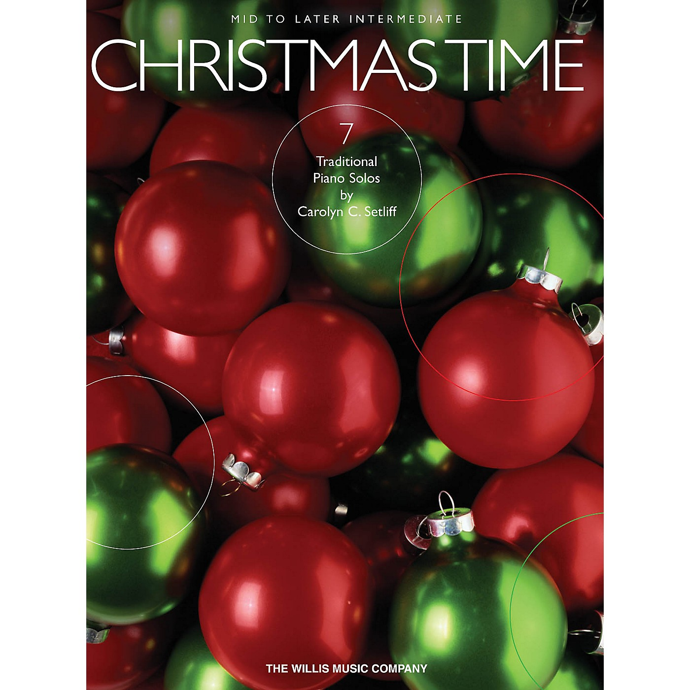 Willis Music Christmas Time (7 Mid to Later Inter Piano Solos) Willis Series thumbnail
