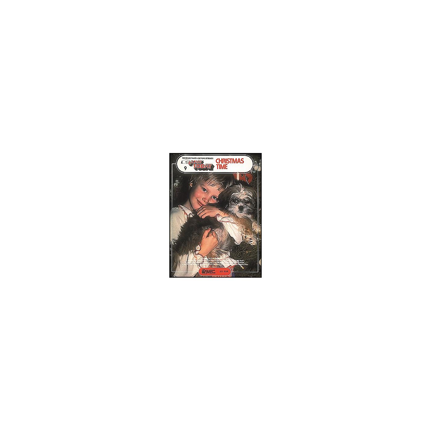 Hal Leonard Christmas Time E-Z Play 9 thumbnail