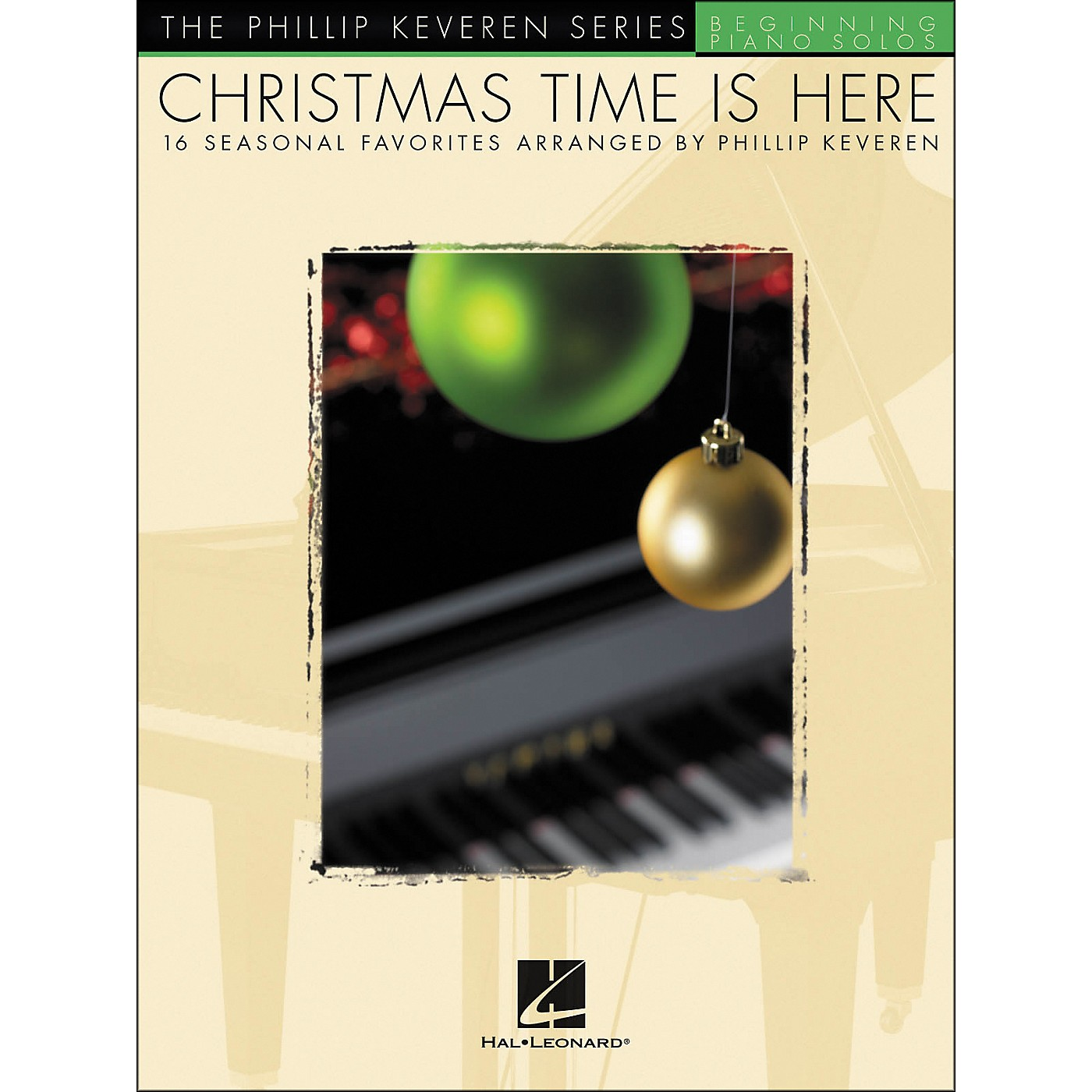 Hal Leonard Christmas Time Is Here Beginning Piano Solos thumbnail