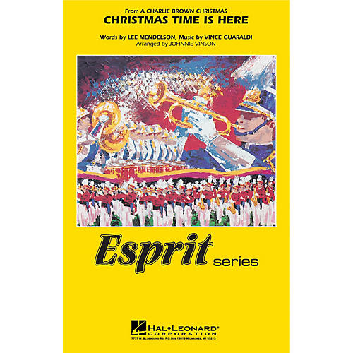 Hal Leonard Christmas Time Is Here Marching Band Level 3 Arranged by Johnnie Vinson thumbnail