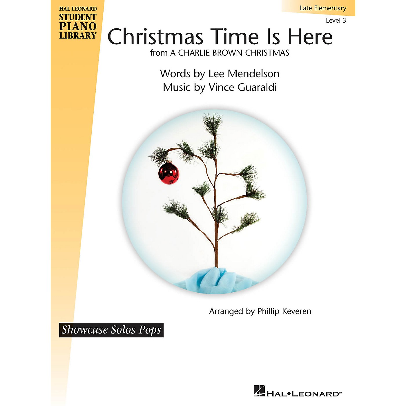 Hal Leonard Christmas Time Is Here Piano Library Series (Level Late Elem) thumbnail