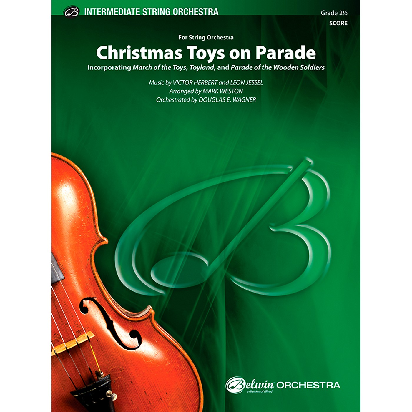 Alfred Christmas Toys on Parade String Orchestra Grade 2.5 Set thumbnail