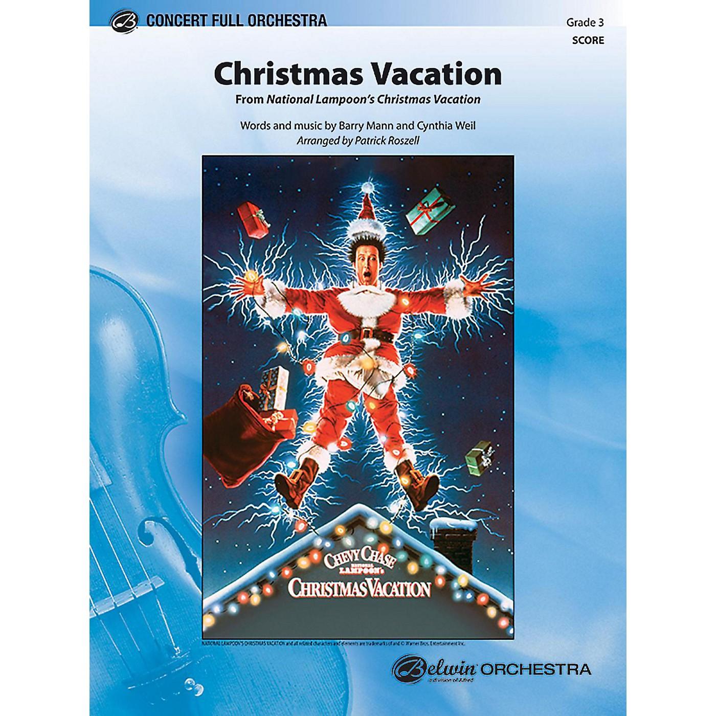 BELWIN Christmas Vacation Grade 3 thumbnail