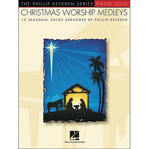 Hal Leonard Christmas Worship Medleys - The Phillip Keveren Series arranged for piano solo thumbnail