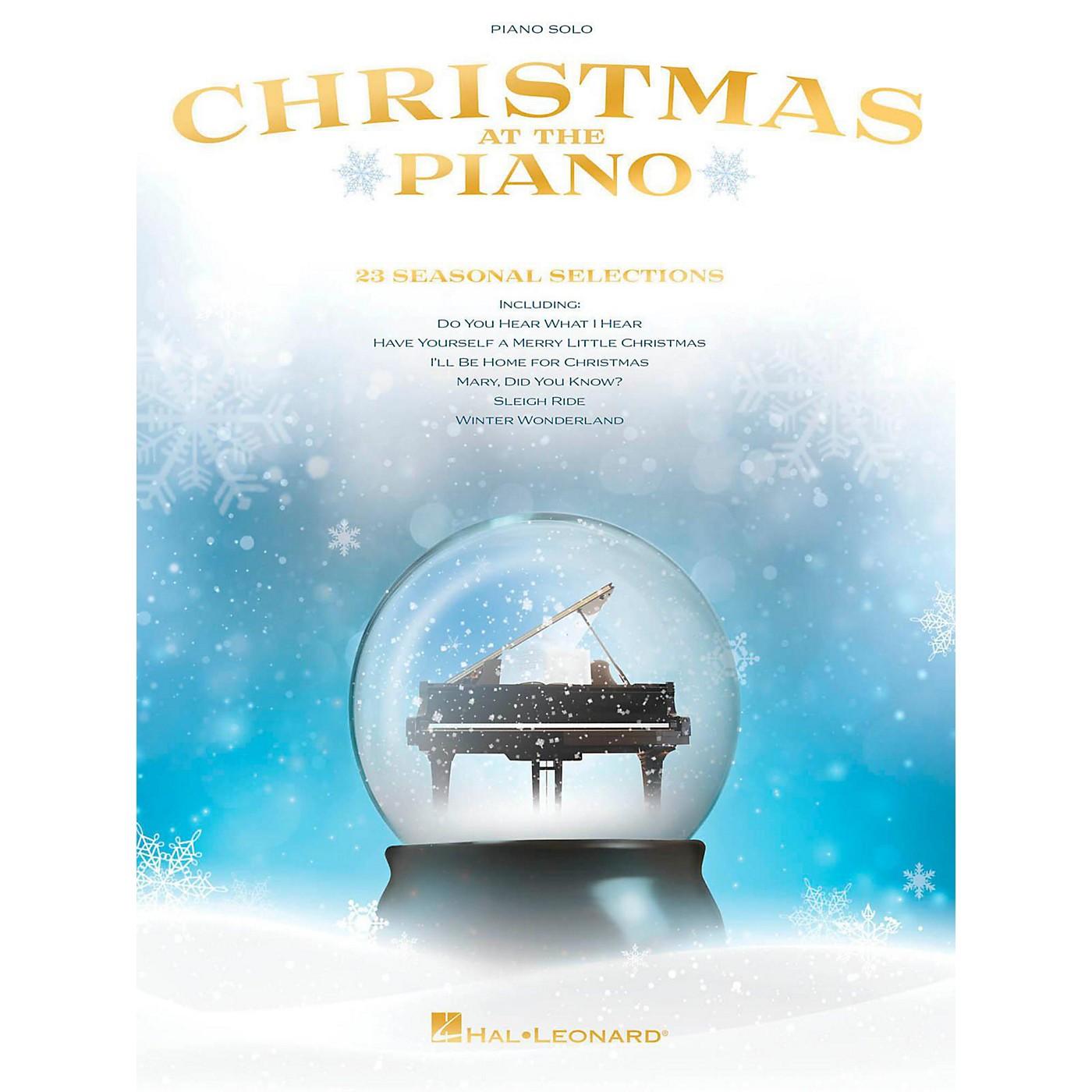 Hal Leonard Christmas at the Piano for piano solo thumbnail