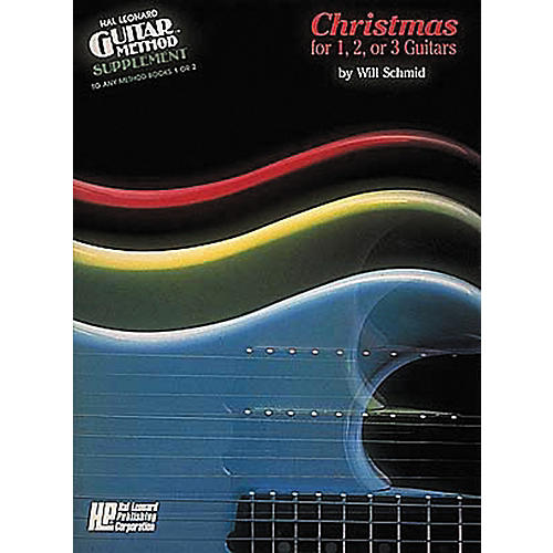 Hal Leonard Christmas for 1, 2, or 3 Guitars Method Book thumbnail