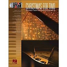 Hal Leonard Christmas for Two - Piano Duet Play-Along Volume 37 (Book/CD)