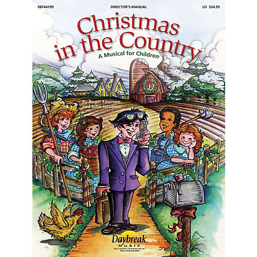 Daybreak Music Christmas in the Country PREV CD Composed by Roger Emerson thumbnail