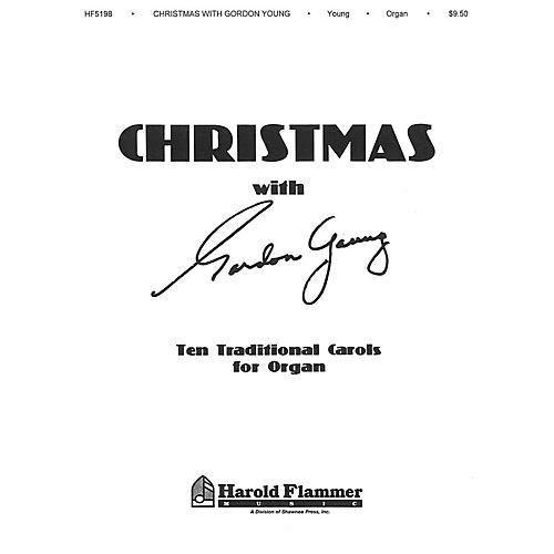 Shawnee Press Christmas with Gordon Young (Ten Traditional Carols for Organ) Organ composed by Gordon Young thumbnail
