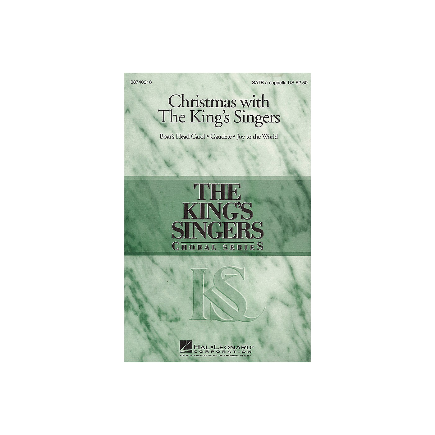 Hal Leonard Christmas with the King's Singers (Collection) SATB by The King's Singers arranged by Brian Kay thumbnail