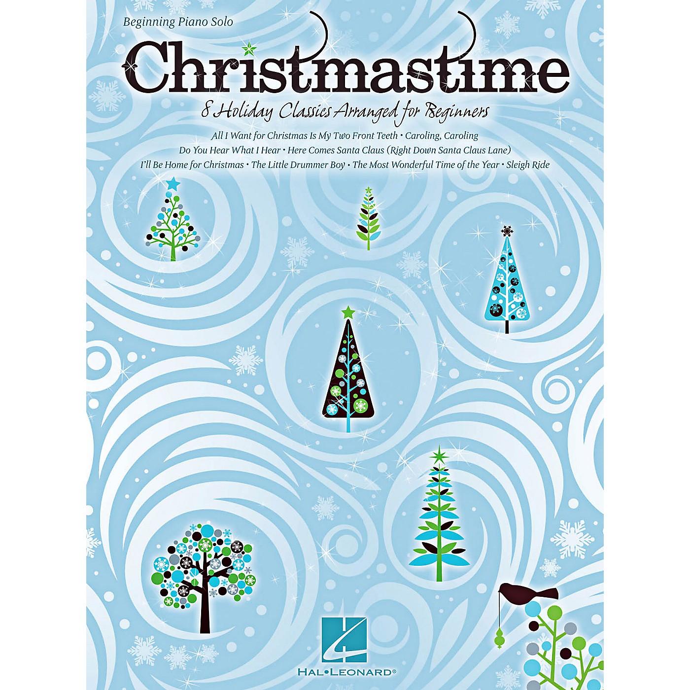 Hal Leonard Christmastime - Beginning Piano Solo Songbook thumbnail