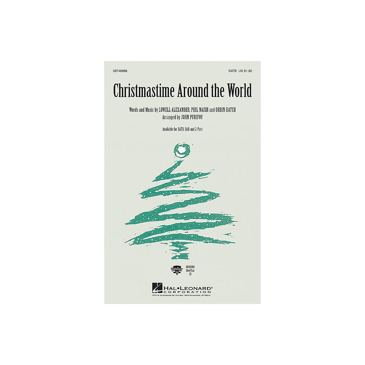 Hal Leonard Christmastime Around the World 2-Part Arranged by John Purifoy thumbnail