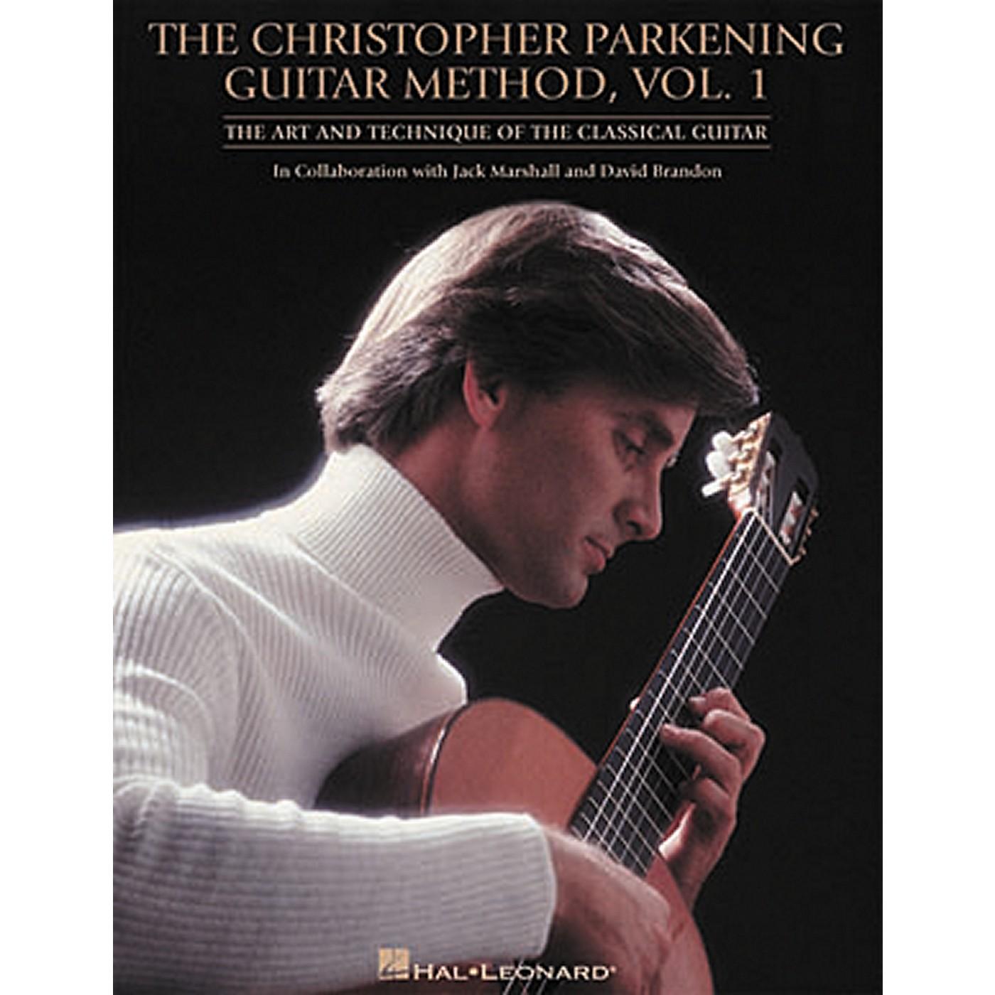 Hal Leonard Christopher Parkening Guitar Method Volume 1 thumbnail