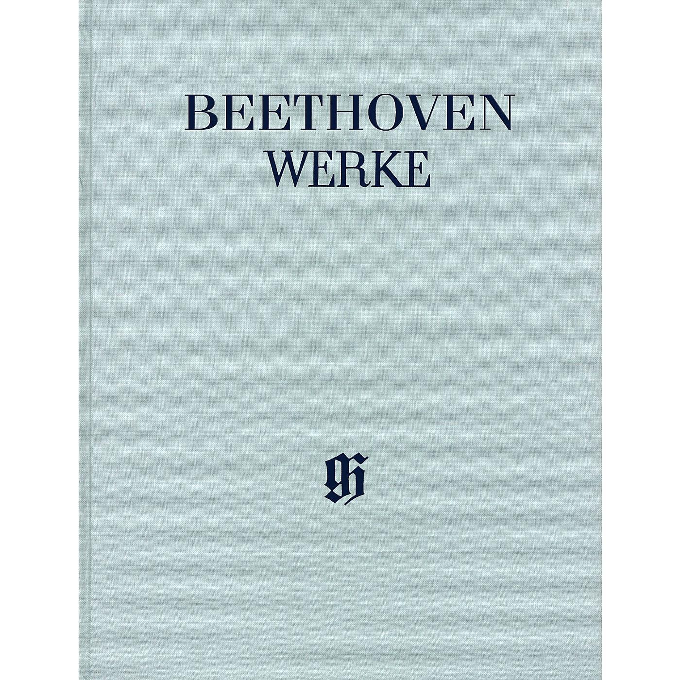 G. Henle Verlag Christus am Ölberge Op. 85 (Hardcover Edition) Score Composed by Ludwig van Beethoven thumbnail