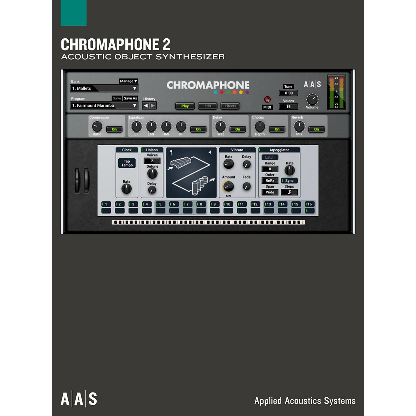 Applied Acoustics Systems Chromaphone 2 thumbnail