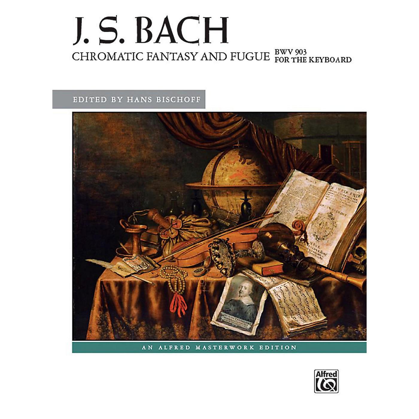 Alfred Chromatic Fantasy and Fugue, BWV 903 - Advanced thumbnail