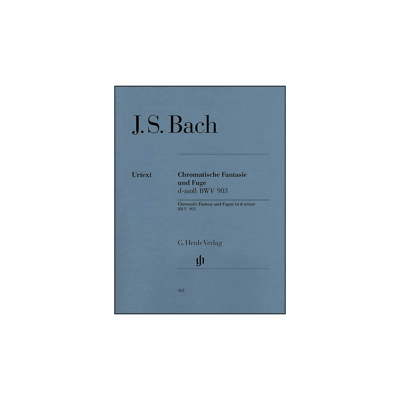 G. Henle Verlag Chromatic Fantasy and Fugue D minor BWV 903 and 903a By Bach thumbnail