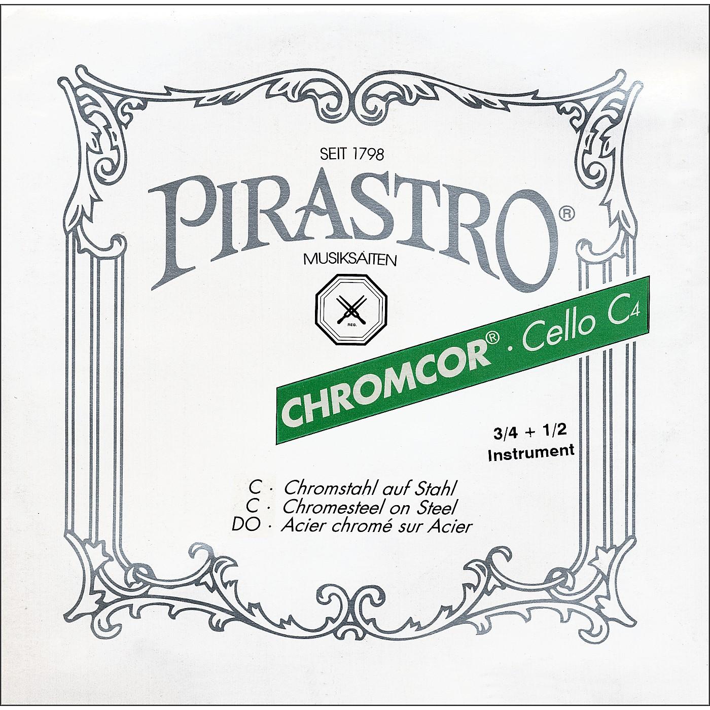 Pirastro Chromcor Series Cello String Set thumbnail