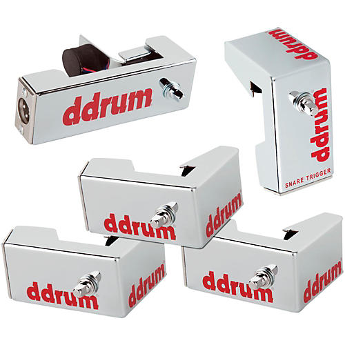 Ddrum Chrome Elite Advanced Engineered Drum Triggers - 5-Piece Set thumbnail
