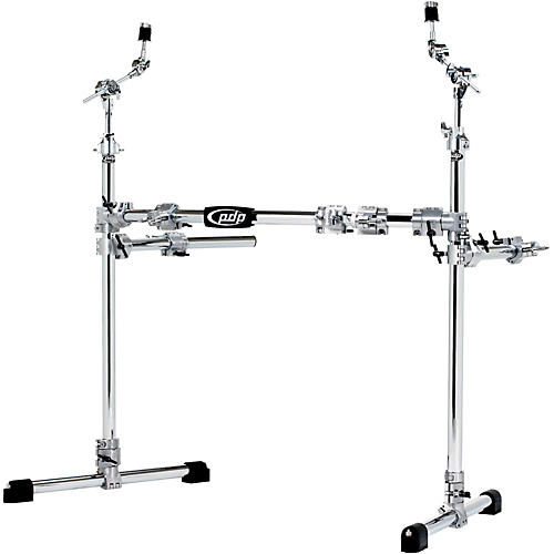 PDP by DW Chrome Plated Drum and Cymbal Rack Package thumbnail