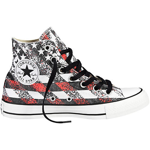 Converse Chuck Taylor All Star Hi-Top Washed Flag Print thumbnail