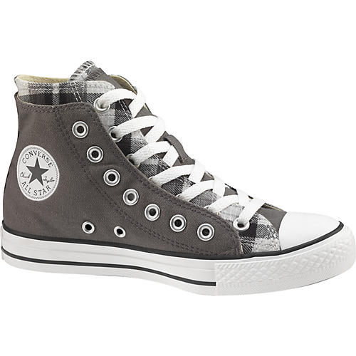 Converse Chuck Taylor All Star High Top Double Upper Plaid Shoes-thumbnail