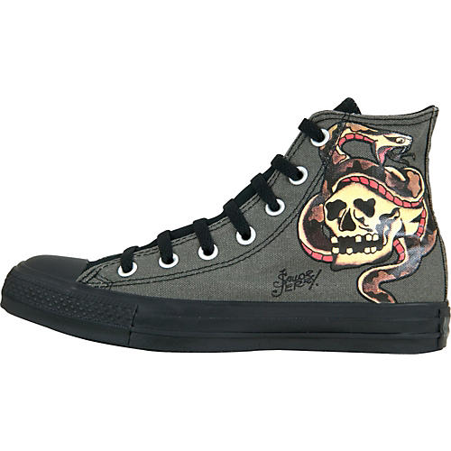 d222849066d3 Converse Chuck Taylor All Star Sailor Jerry Hi-Tops with Snake Skull  thumbnail