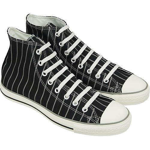 Converse Chuck Taylor All Star Strip Hi-Top Sneakers (Black/Milk) thumbnail