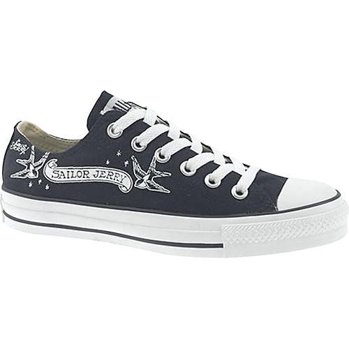 f52c958c9746 Converse Chuck Taylor Sailor Jerry Swallow Low-Top Shoes - Woodwind ...
