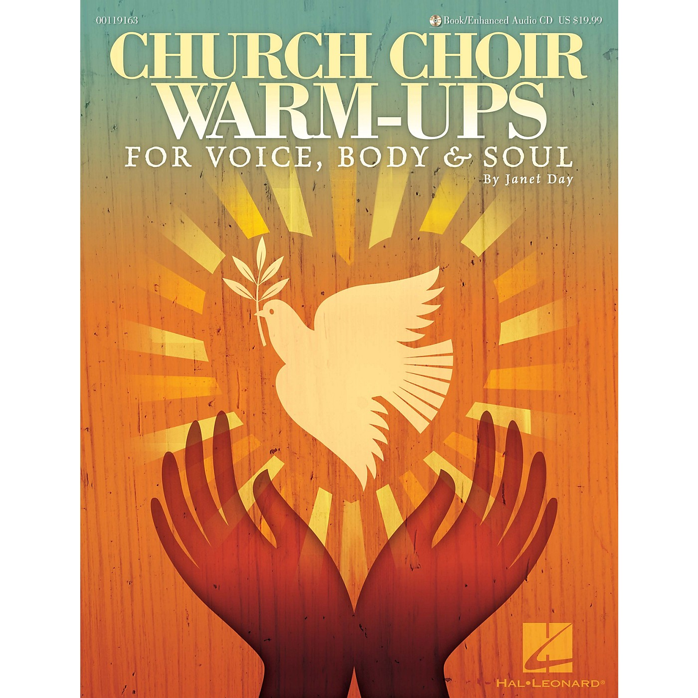 Hal Leonard Church Choir Warm-Ups (For Voice, Body & Soul) Book and CD pak composed by Janet Day thumbnail