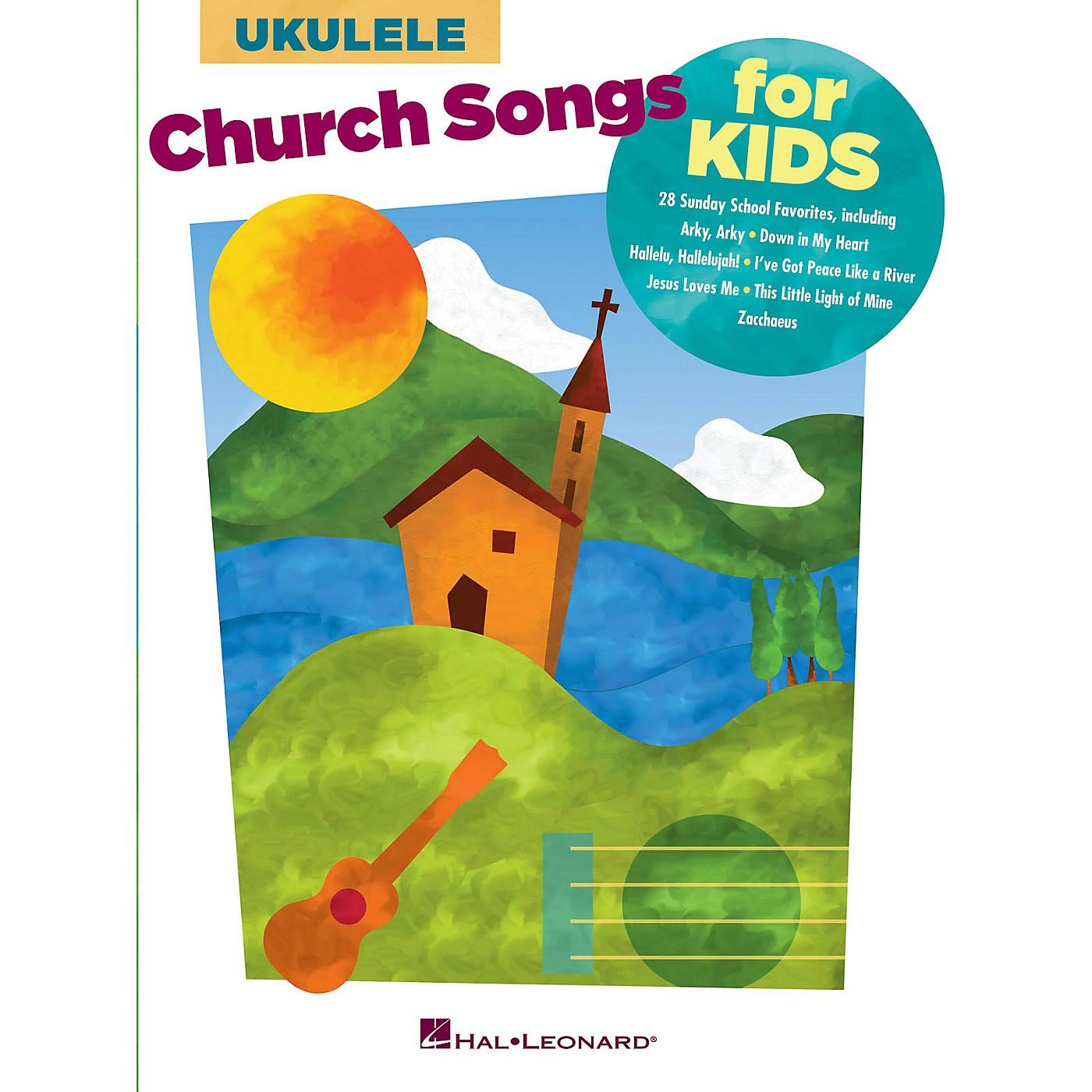 Hal Leonard Church Songs for Kids (for Ukulele) Ukulele Series Softcover thumbnail