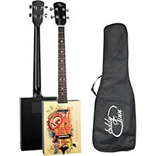 Eddy Finn Cigar Box Acoustic-Electric Guitar