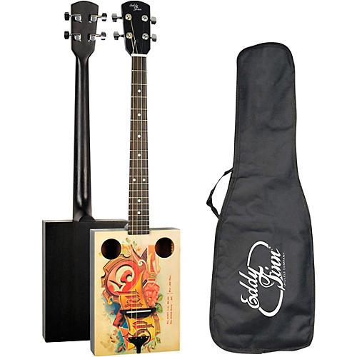 Eddy Finn Cigar Box Acoustic Guitar thumbnail