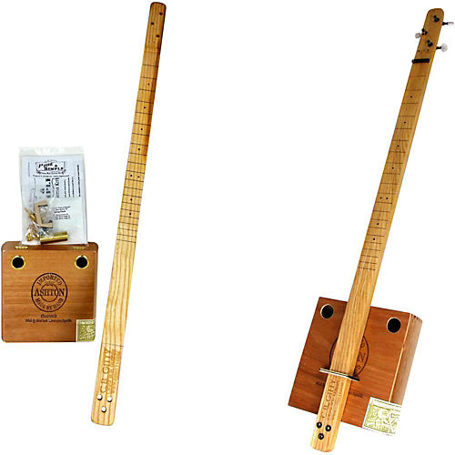 C.B. Gitty Cigar Box Pure & Simple 3-String Slide Guitar Kit thumbnail