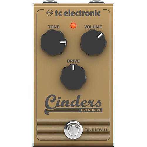 TC Electronic Cinders Overdrive Effects Pedal thumbnail