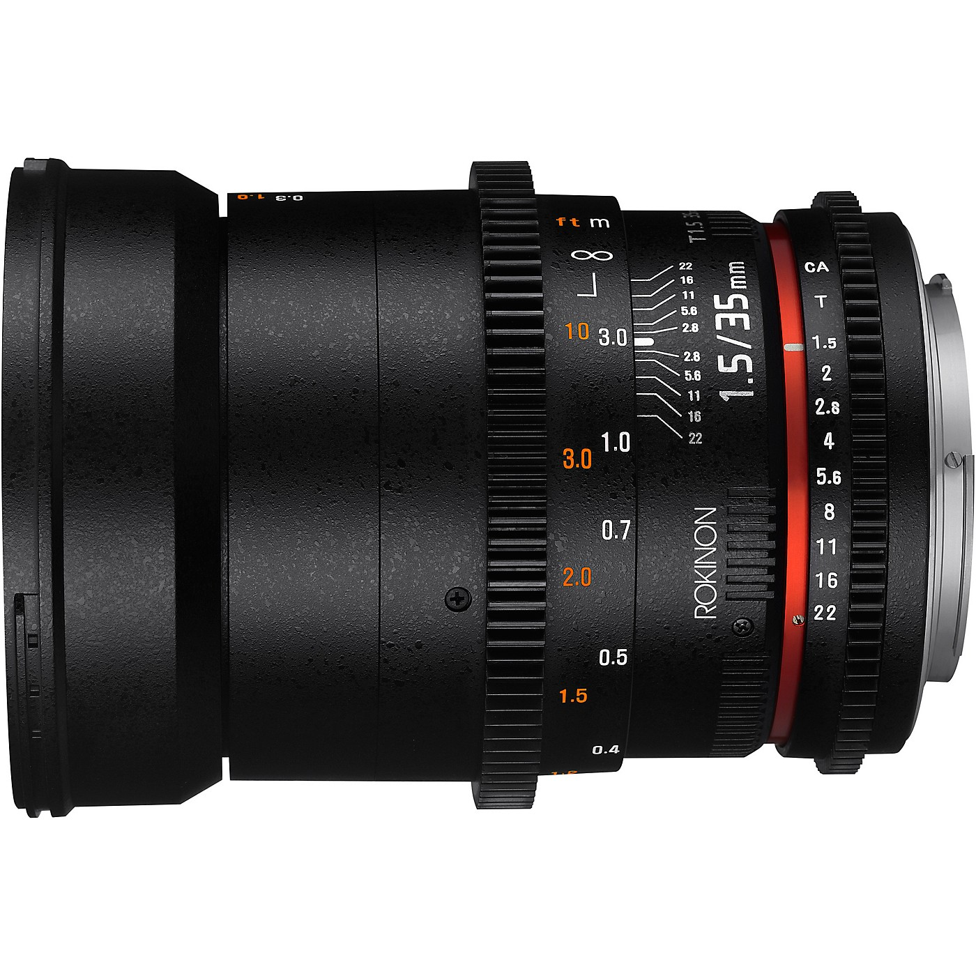 ROKINON Cine DS 35mm T1.5 Wide Angle Cine Lens for Micro Four Thirds thumbnail