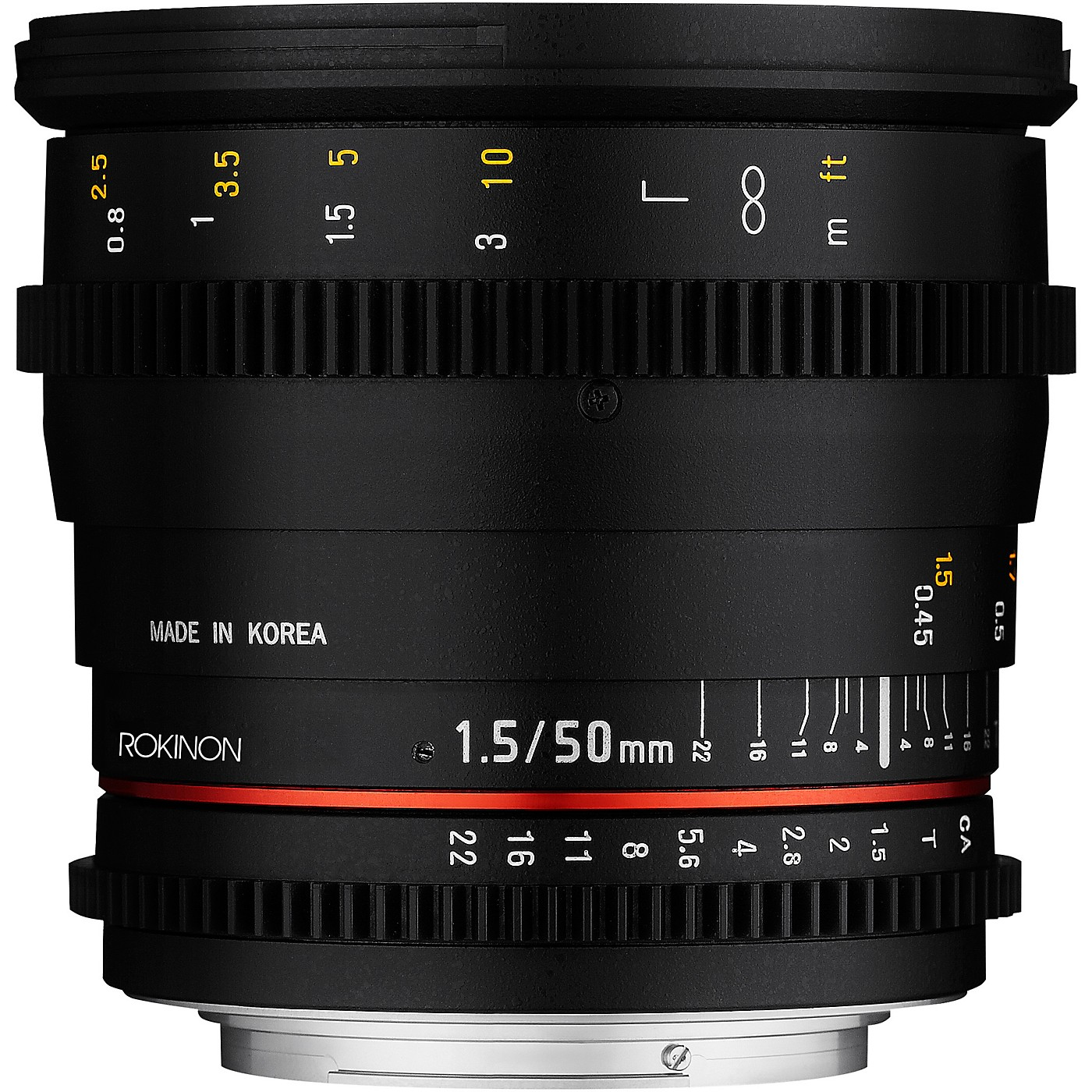 Rokinon Cine DS 50mm T1.5 Cine Lens for Micro Four Thirds thumbnail