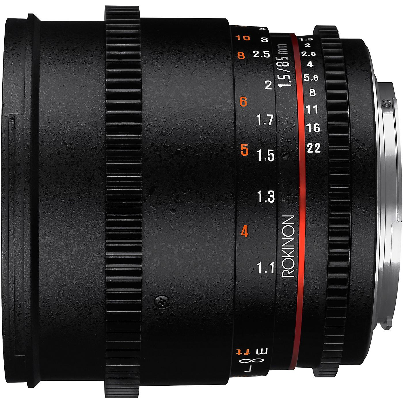 ROKINON Cine DS 85mm T1.5 Cine Lens for Micro Four Thirds thumbnail