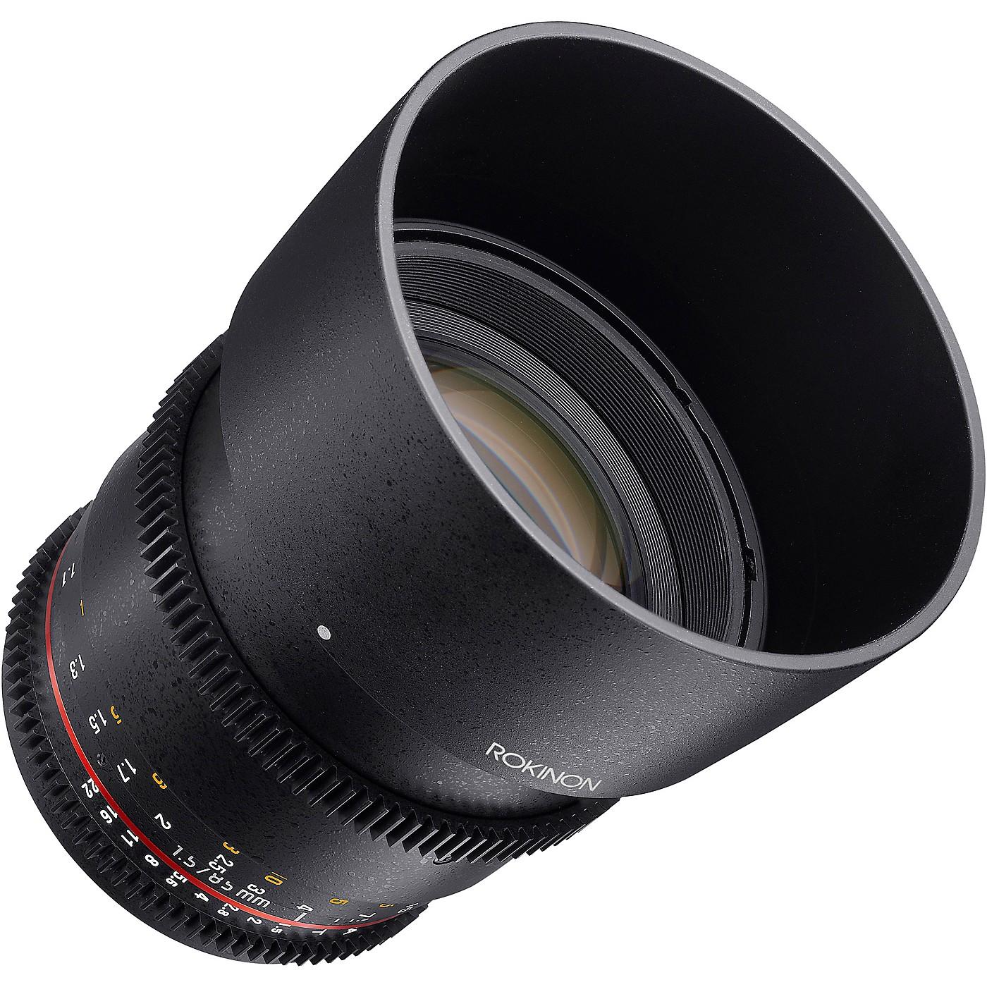 ROKINON Cine DS 85mm T1.5 Cine Lens for Sony E-Mount thumbnail