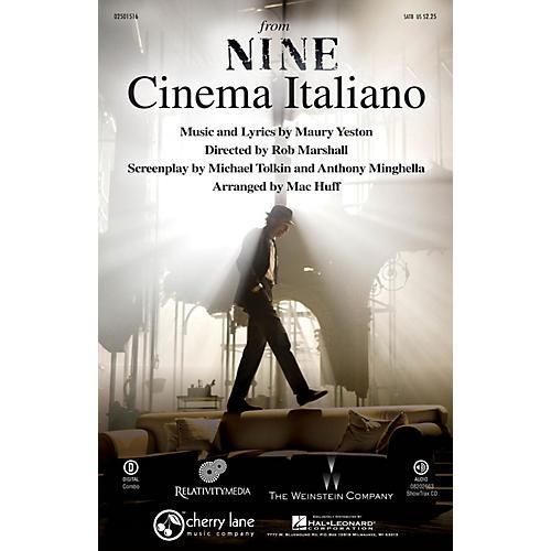 Cherry Lane Cinema Italiano (from Nine) SATB arranged by Mac Huff thumbnail