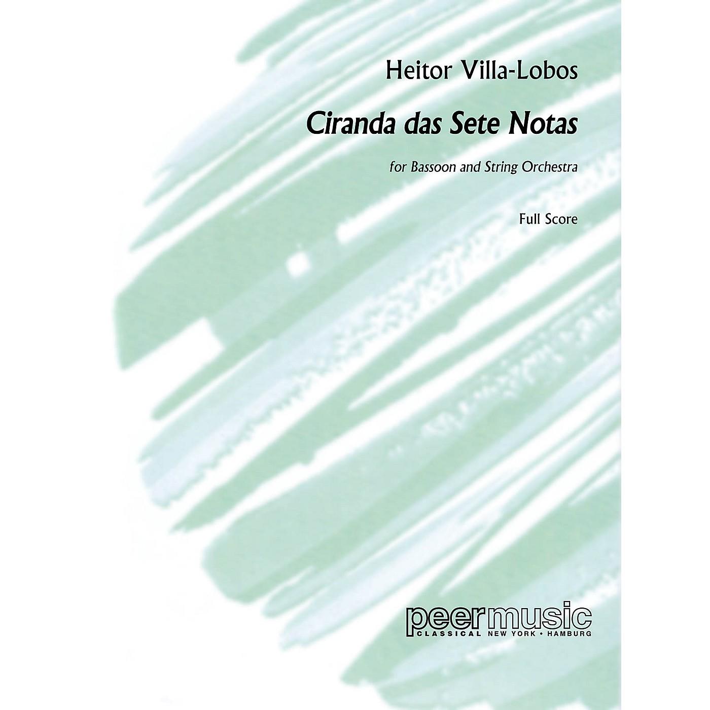 Peer Music Ciranda das sete Notas Peermusic Classical Series Softcover Composed by Heitor Villa-Lobos thumbnail