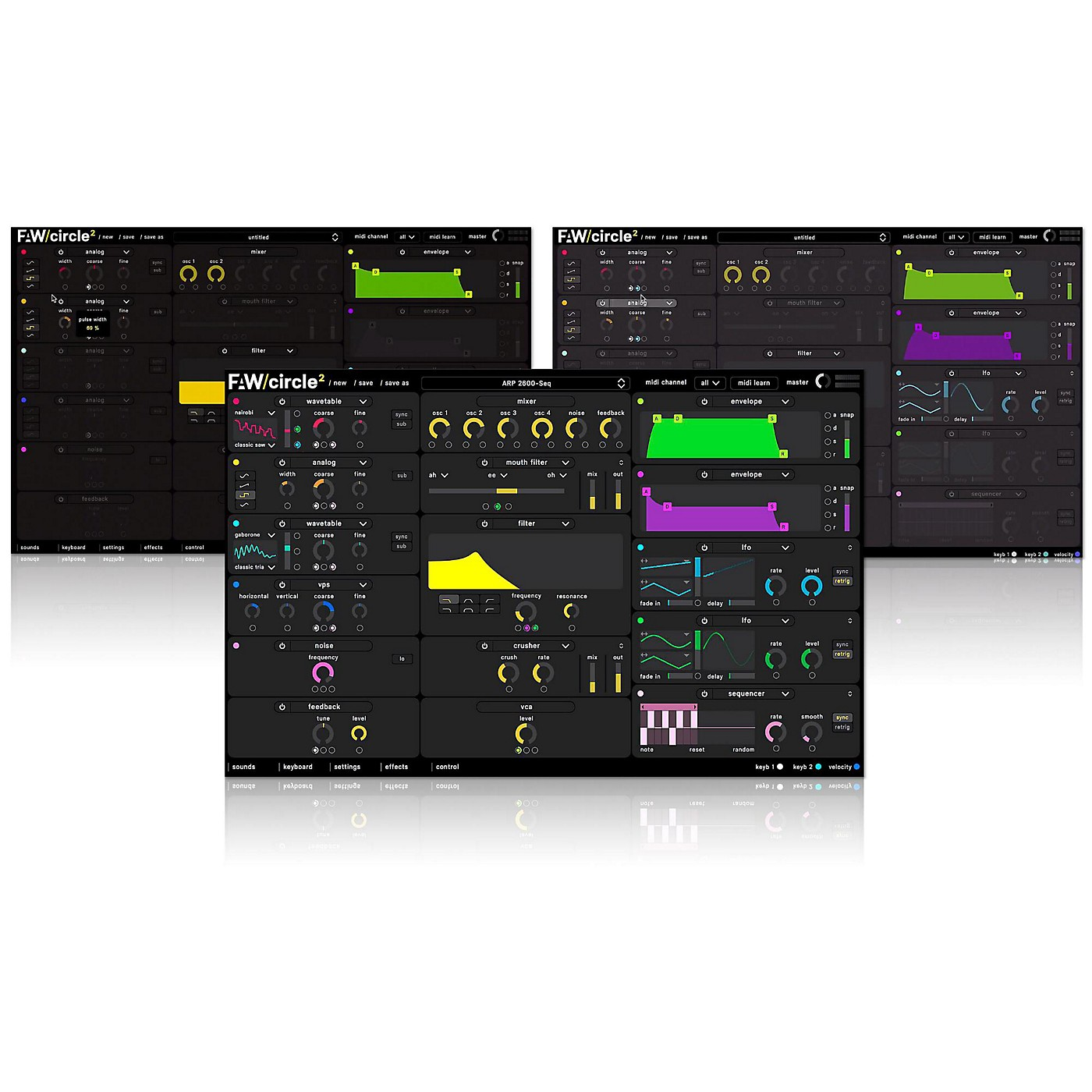 Future Audio Workshop Circle2 Synthesizer Software Download thumbnail