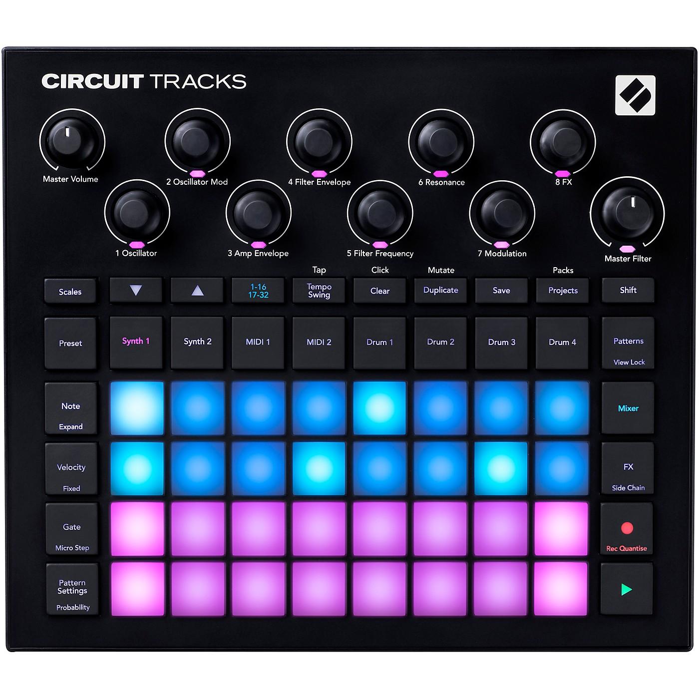 Novation Circuit Tracks Standalone Groovebox thumbnail