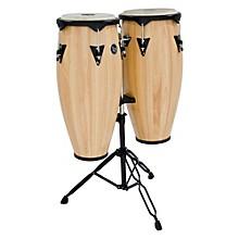 LP City Wood Conga Set w/ Double Stand