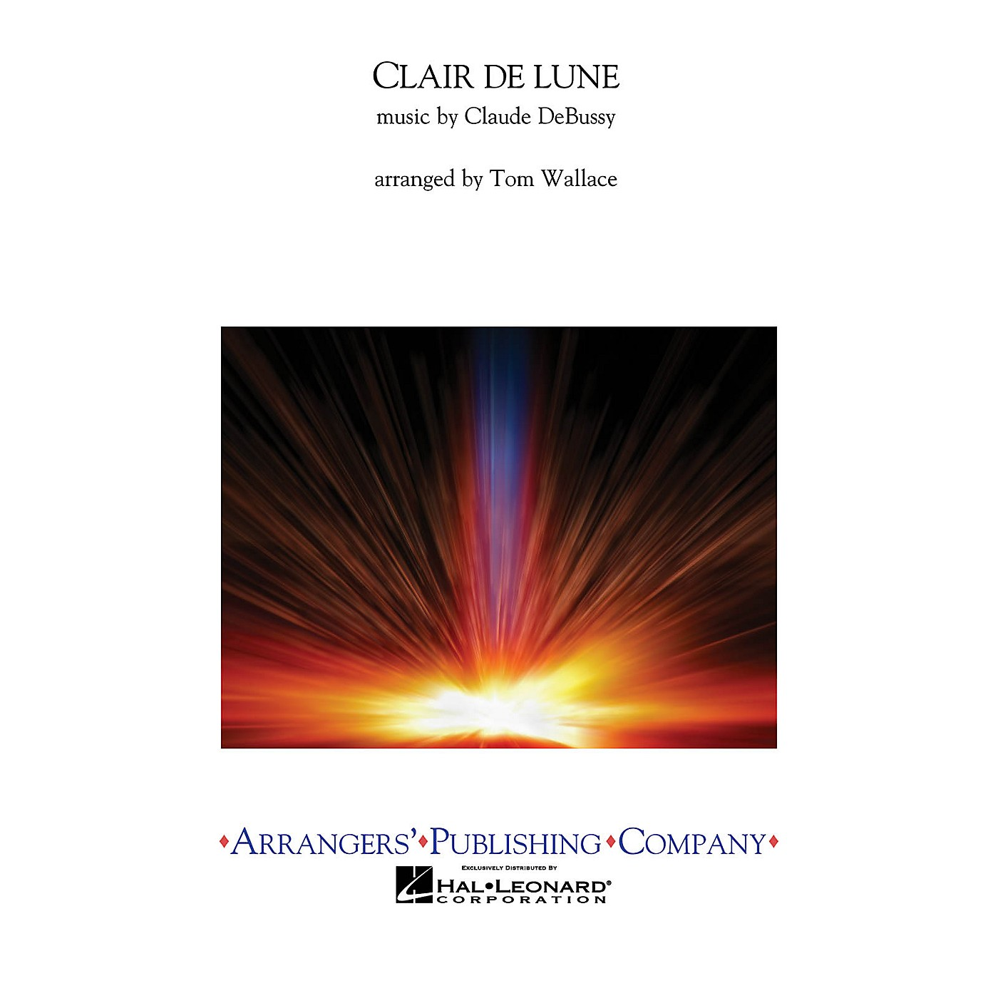 Arrangers Clair de Lune Concert Band Level 3 Arranged by Tom Wallace thumbnail
